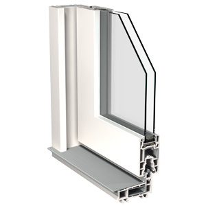 Porte coulissante isolation thermique et acoustique